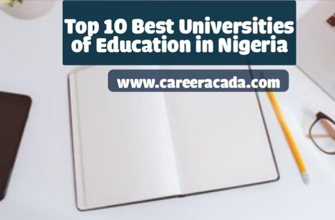 best universities of education in Nigeria