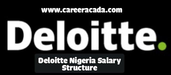Deloitte Nigeria Salary Structure
